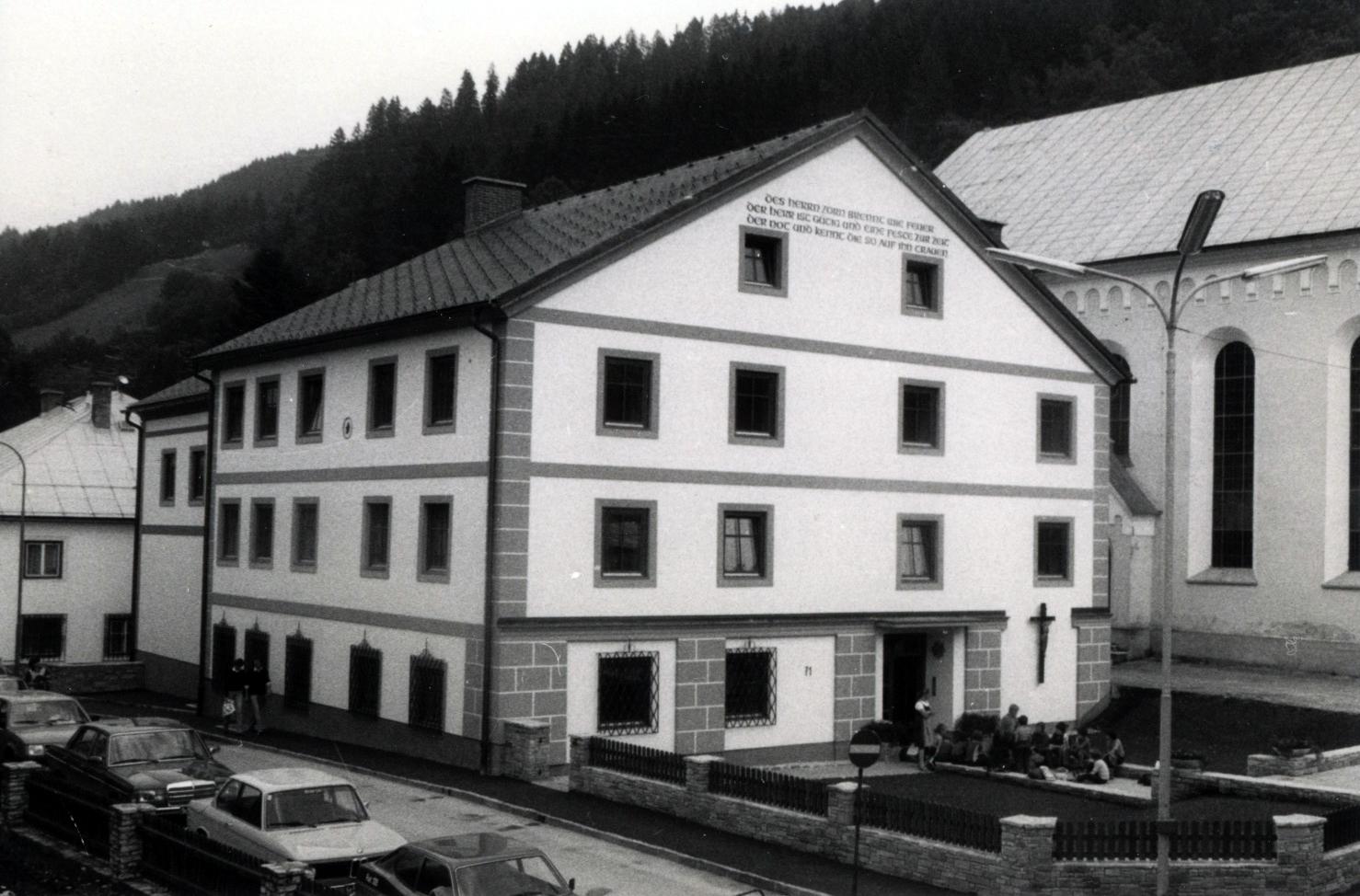 Pfarrhaus 1981