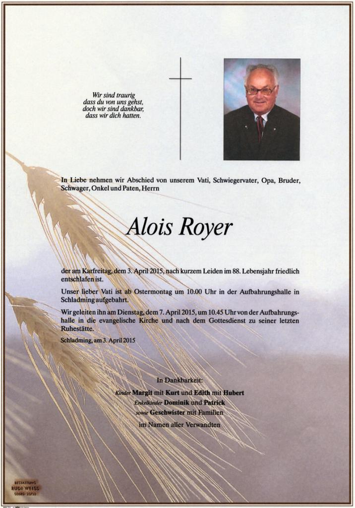 07 Alois Royer