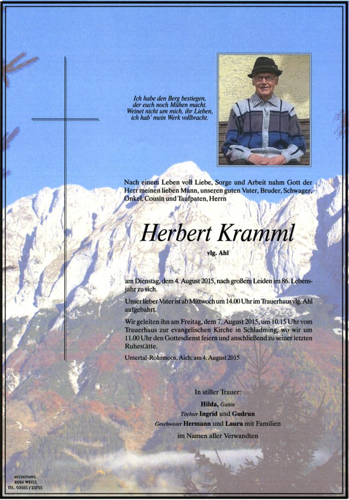 18 Herbert Kramml