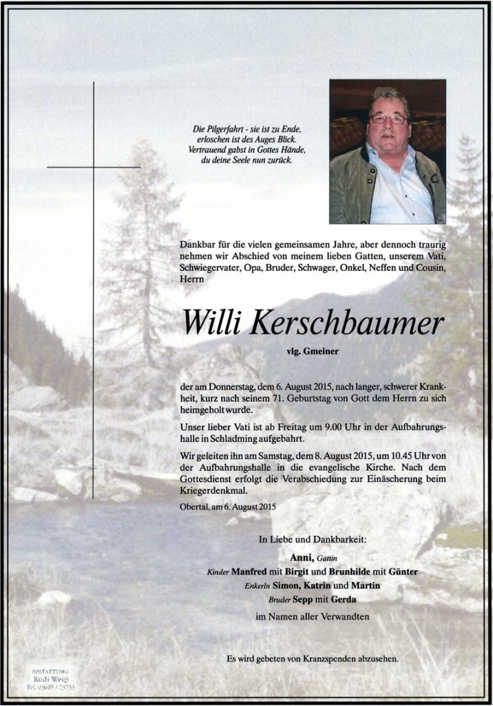 19 Willi Kerschbaumer