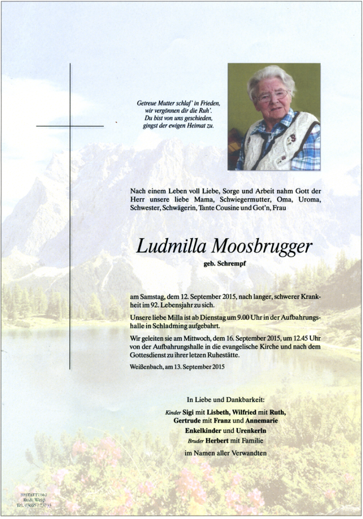 22 Ludmilla Moosbrugger