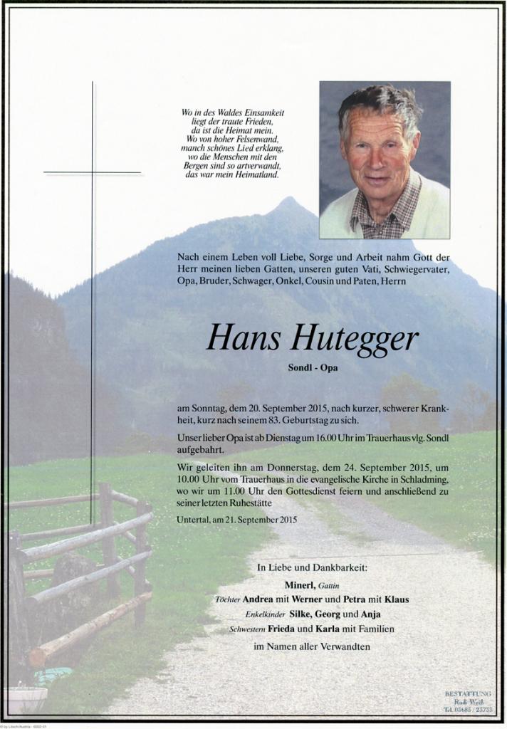 24 Hans Hutegger