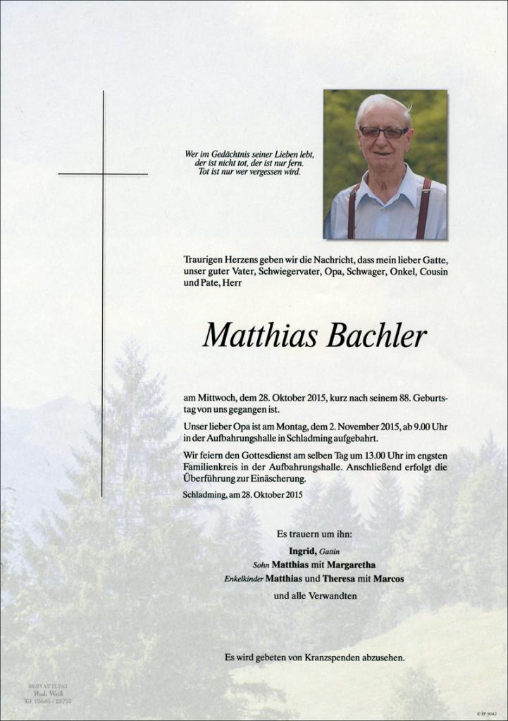 26 Matthias Bachler