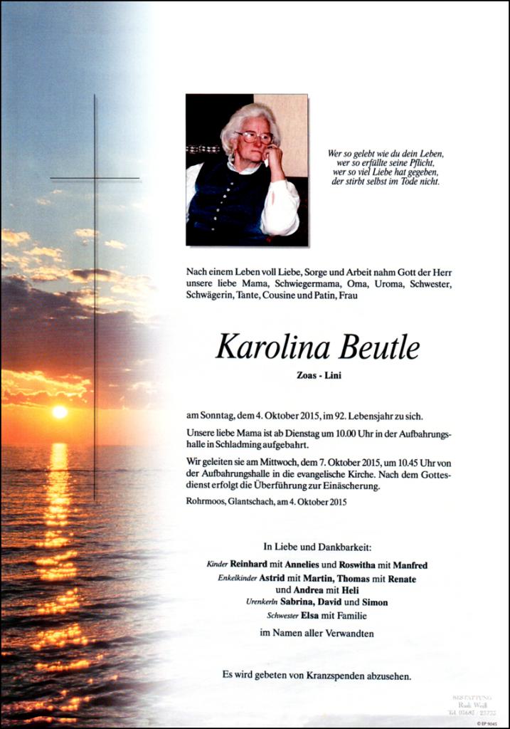 Karolina Beutle