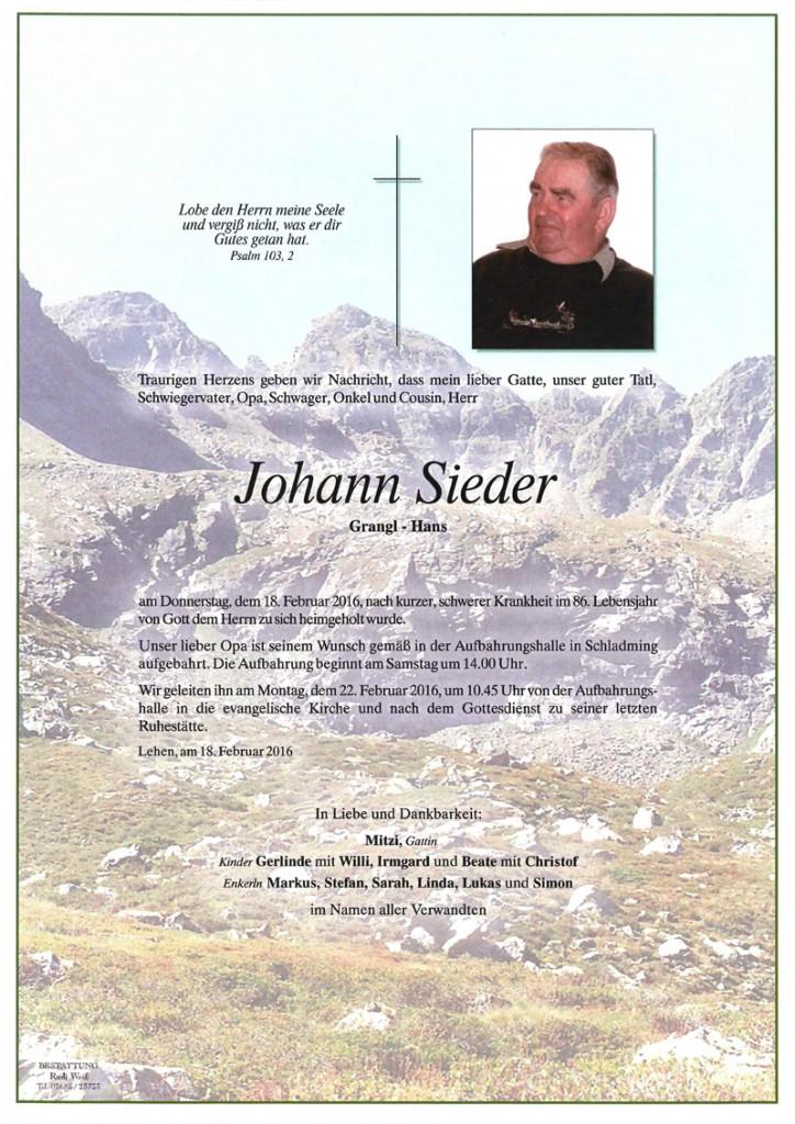 09 Johann Sieder