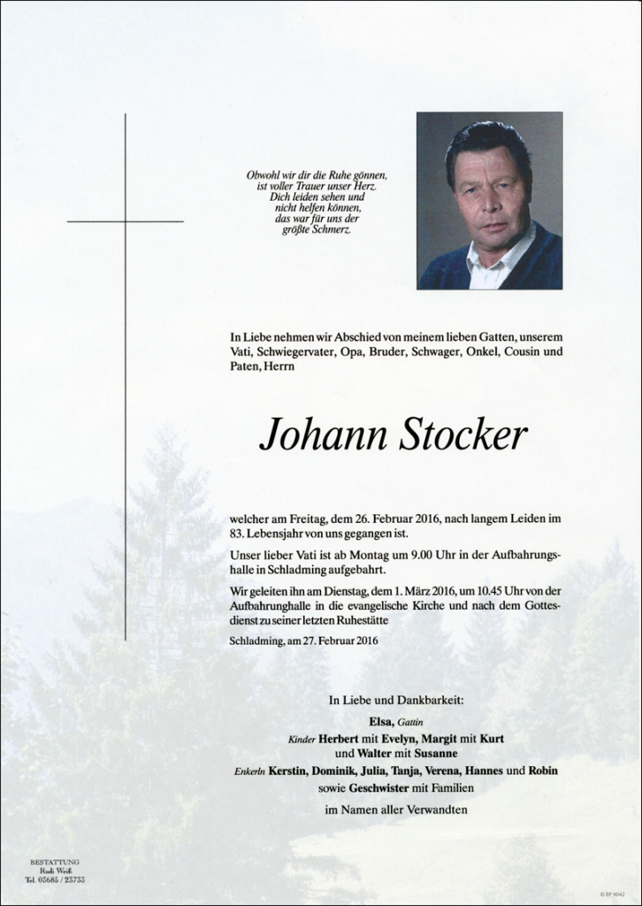 10 Johann Stocker