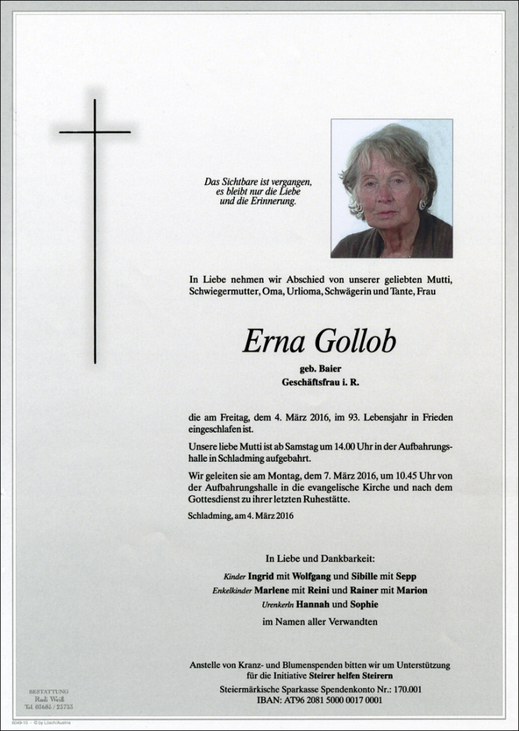 11 Erna Gollob