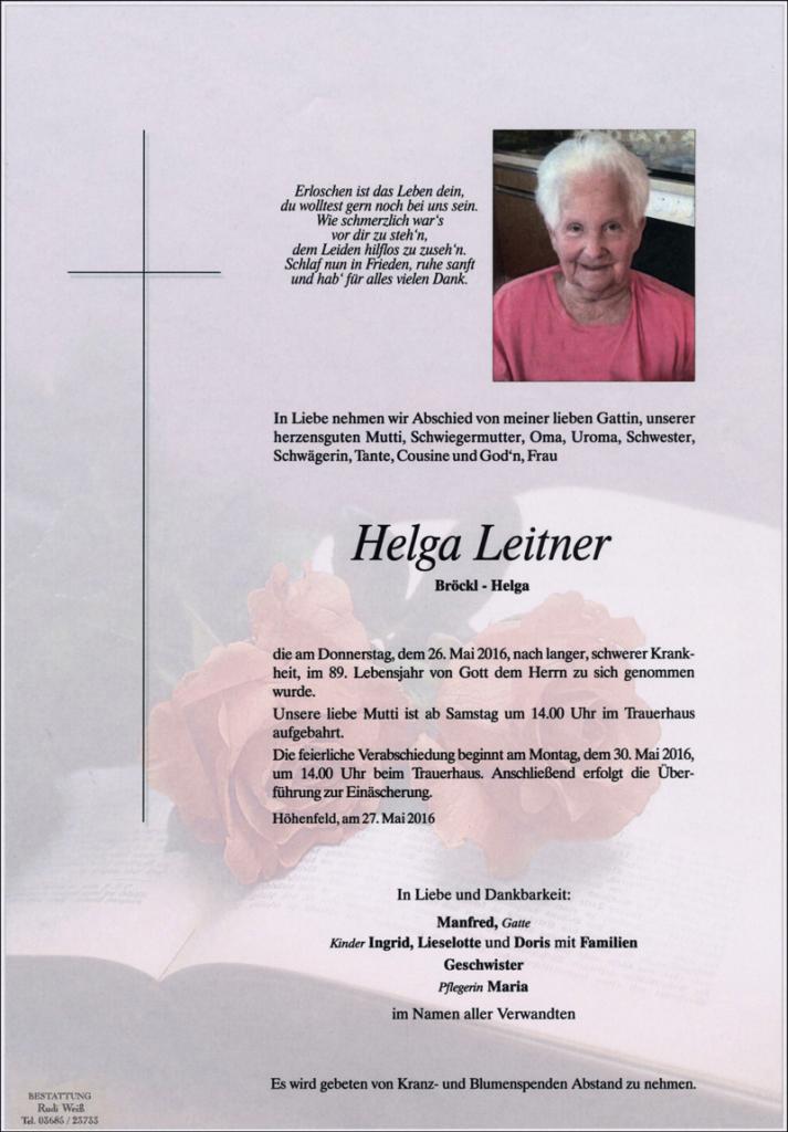 19 Helga Leitner