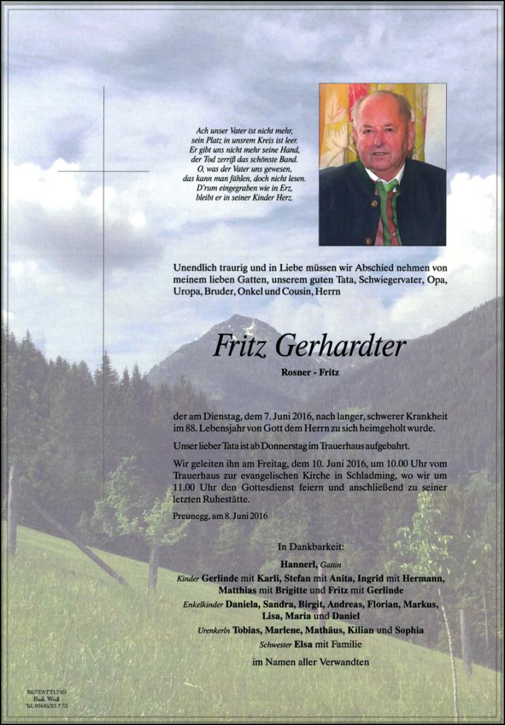 20 Fritz Gerhardter