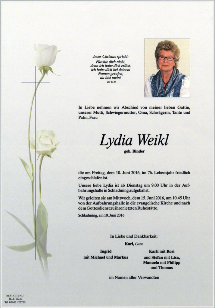 21 Lydia Weikl