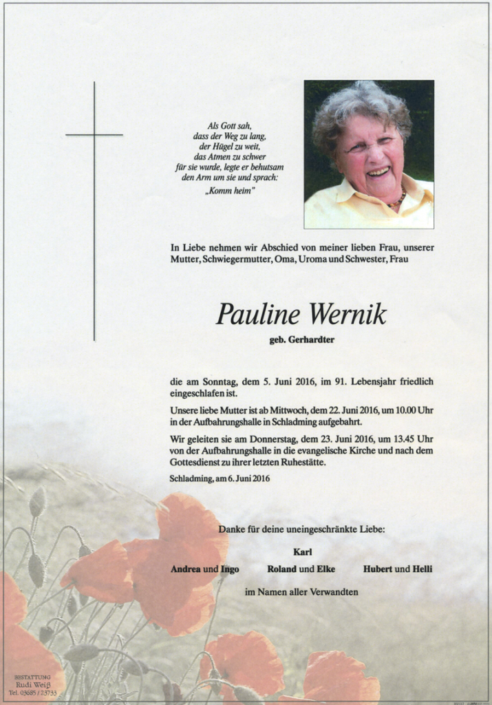 22 Pauline Wernik