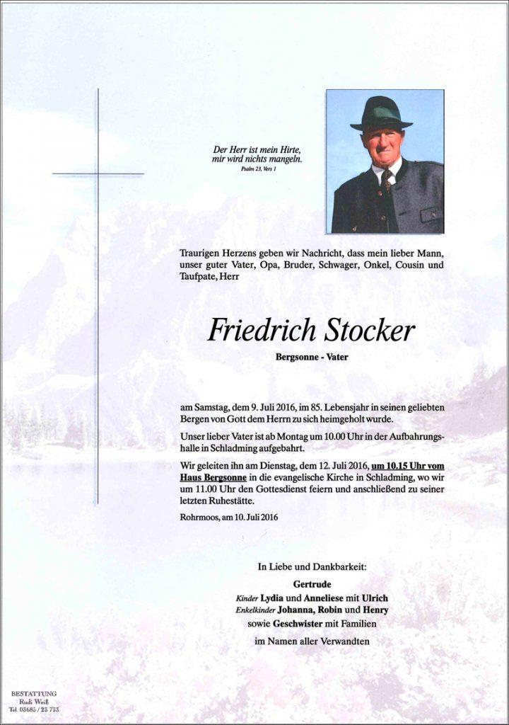 Firedrich Stocker