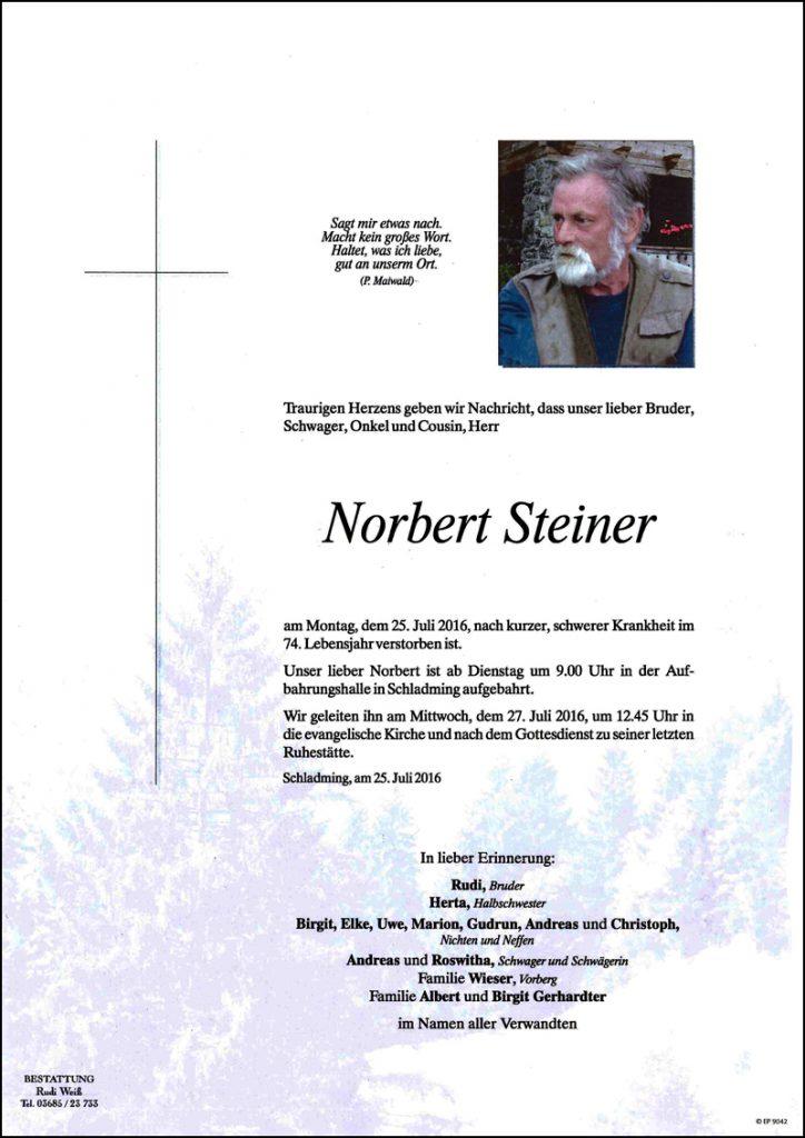 Norbet Steiner