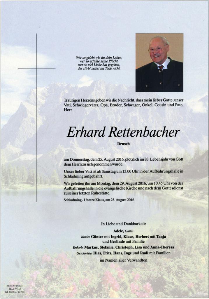 25 Erhard Rettenbacher