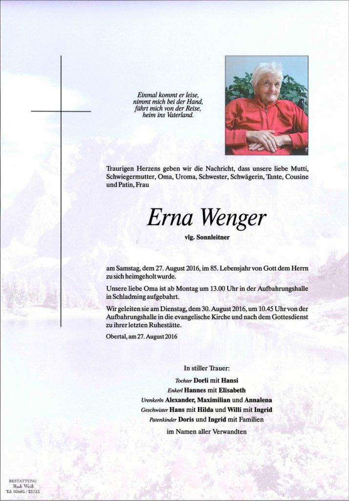 Erna Wenger